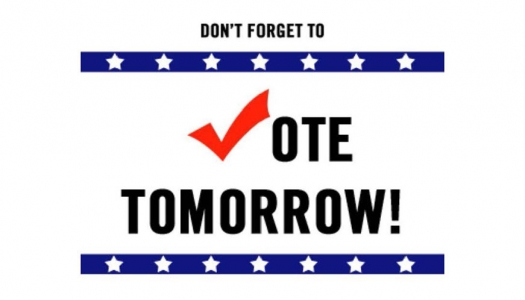 2018 Midterm Election Day- Don't Forget to VOTE!