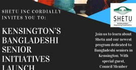 Kensington's Bangladeshi Senior Initiatives Launch