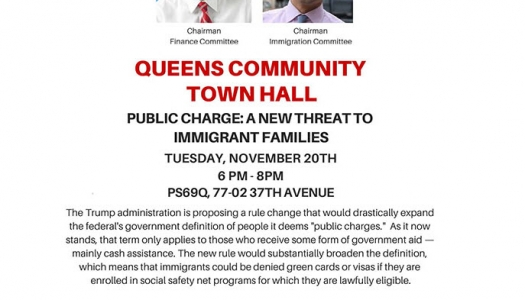 Queens Community Town Hall